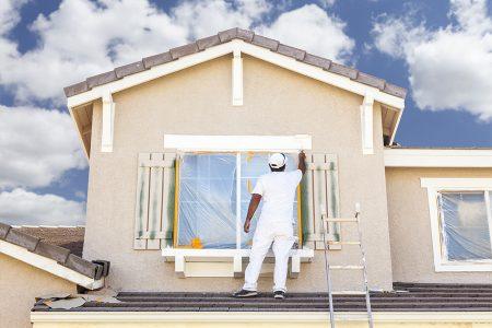 Maler Bax Fassadenanstrich Aussenanstrich Fassadensanierung